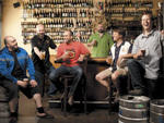 Brewers from left to right: Nick Floyd, Doug Hurst, Jared Rouben, Jonathan Cutler, Jim Ebel,  and Jason Ebel at the Hopleaf