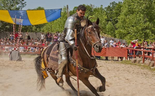 Bristol Renaissance Faire 2011 Jousting