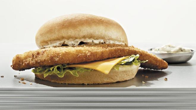 Fish Sandwich from Hagen's Fish Market
