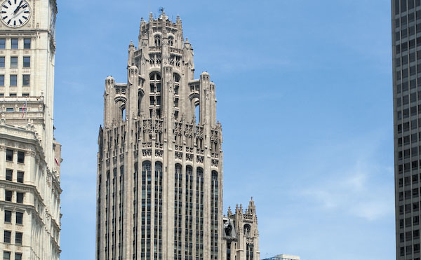 Tribune Tower, 435 N Michigan Ave