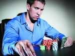 Professional poker player Tom Koral.