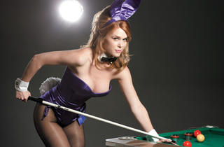 (Photograph: Paul Elledge; Hair & Make Up:  Maria Barrera; Assistant: Brad Johnson; Bumper pool table provided by www.amoonjump4u.com)
