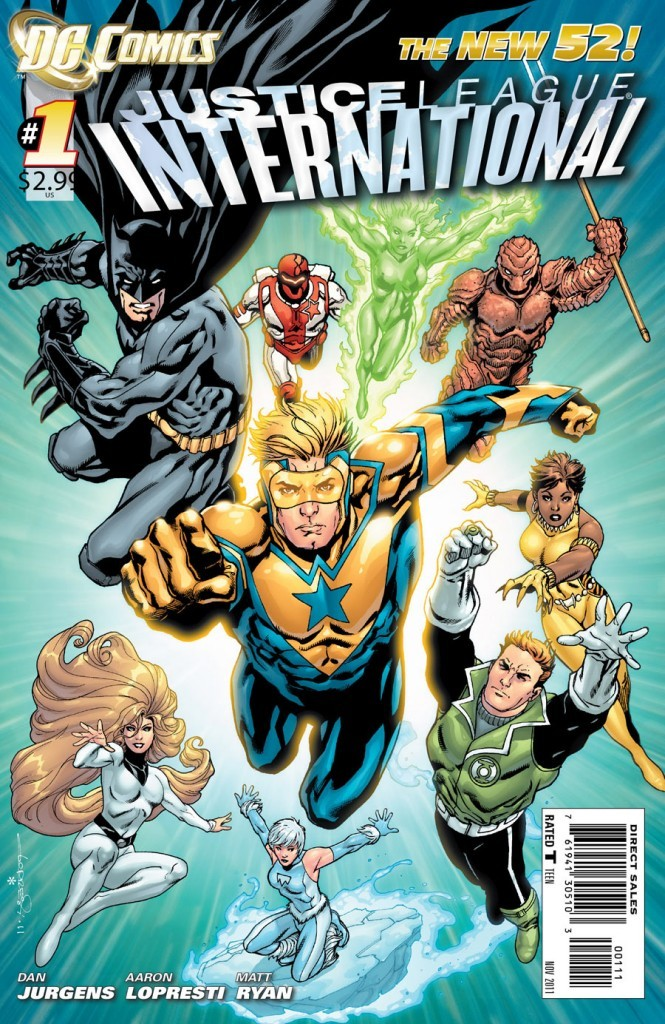 Review | Justice League International #1