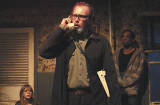Darrell W. Cox in A Behanding in Spokane at Profiles Theatre