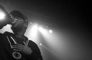 Big K.R.I.T. performs as part of the Smokers Club Tour (Part 2) at the Congress...