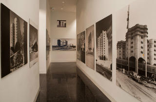 "(Installation view of ""Bertrand Goldberg: Reflections"" at the Arts Club of Chicago, 2011. Photograph: Michael Tropea)"
