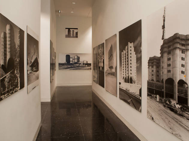 """(Installation view of """"Bertrand Goldberg: Reflections"""" at the Arts Club of Chicago, 2011. Photograph: Michael Tropea)"""