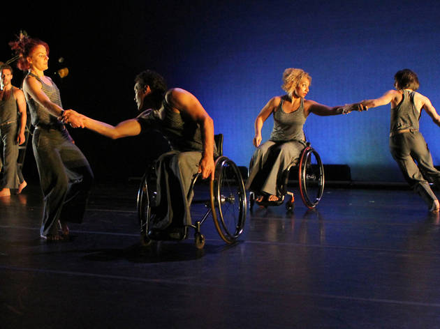 (Photograph: Courtesy of AXIS Dance Company)