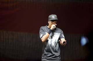 Jay-Z and Kanye West- Watch The Throne Tour, United Center 11/30/2011