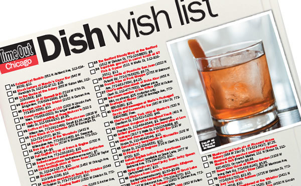 100 Best dish wish list