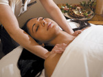 Holiday Aroma Blend Massage at the Four Seasons.