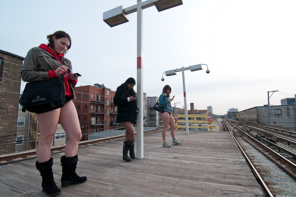 2012 No Pants Subway Ride