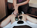 Hot Stone Massage at the Fairmont Hotel Spa