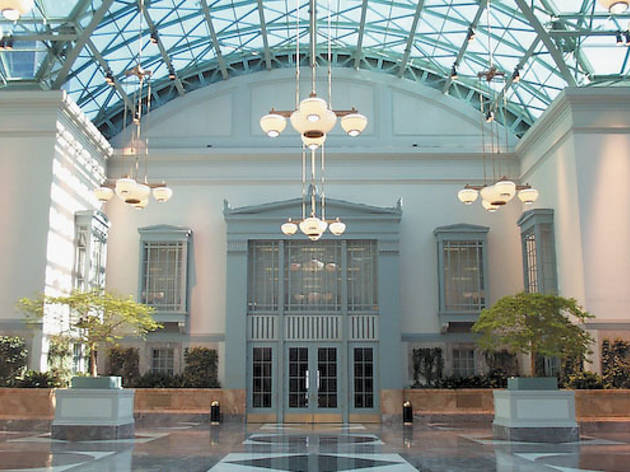 Harold Washington Library Center Winter Garden