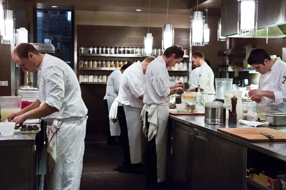 Inside Next El Bulli: the service
