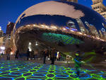 Luminous Field at Cloud Gate, Millennium Park