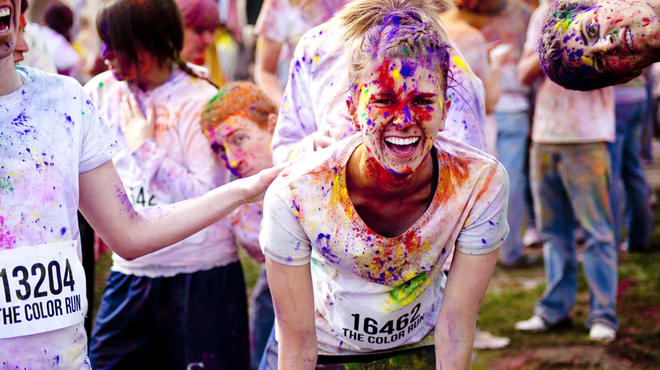 Photograph: Courtesy of thecolorrun.com