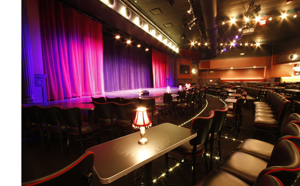 UP Comedy Club interior