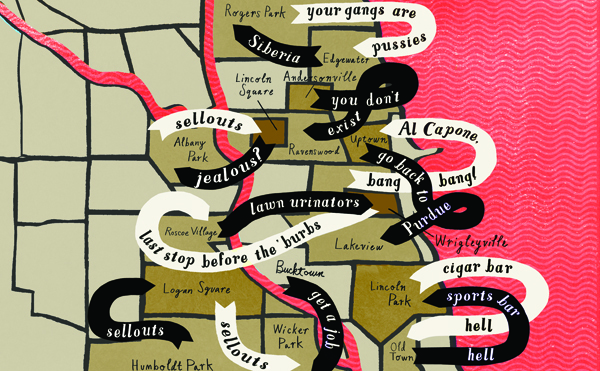 Neighborhood insult map