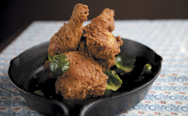 Fried chicken dinners