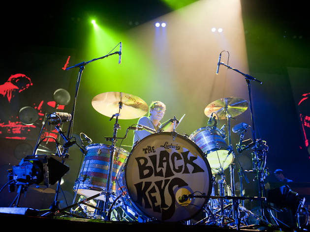 The Black Keys at the United Center, 3/19/12
