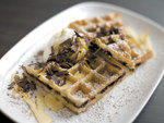 Best New Breakfast winner: Waffles (Mexican chocolate waffles)