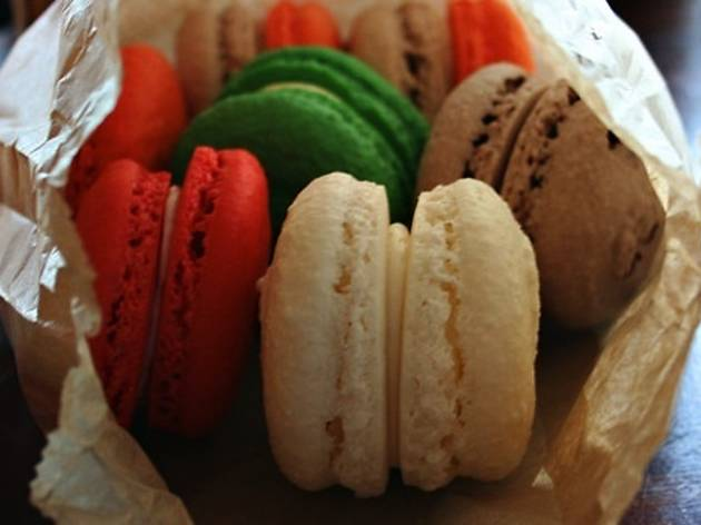 National Macaron Day with Bon Macaron at Bow Truss Coffee River North