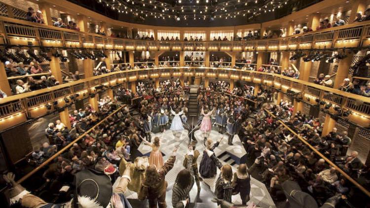Chicago Shakespeare Theater interior