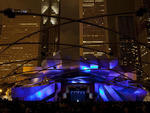 Frank Gehry's landmark Pritzker Pavilion