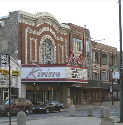 RivieraTheater4BWChicago