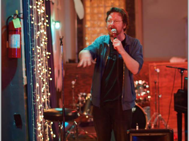 Adam Burke at Cole's Open Mic