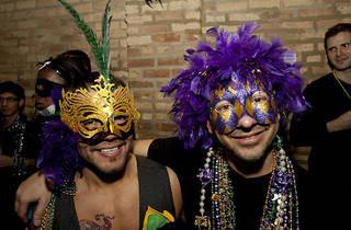 Mardi Gras Celebration at Sidetrack