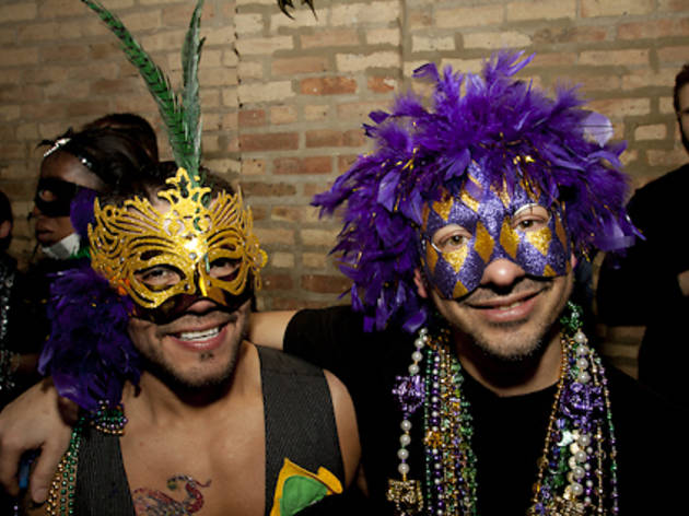 Mardi Gras parties and events