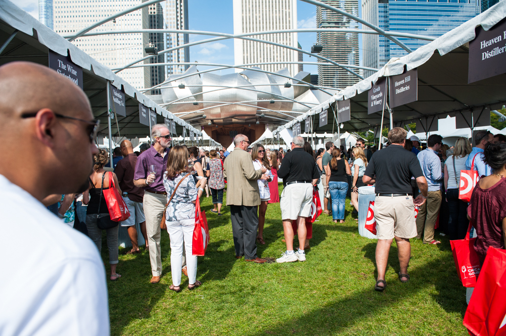 The annual Chicago Gourmet festival features tastings, cookoffs, book signings and more.