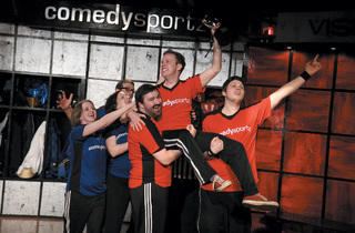 The ComedySportz Theatre