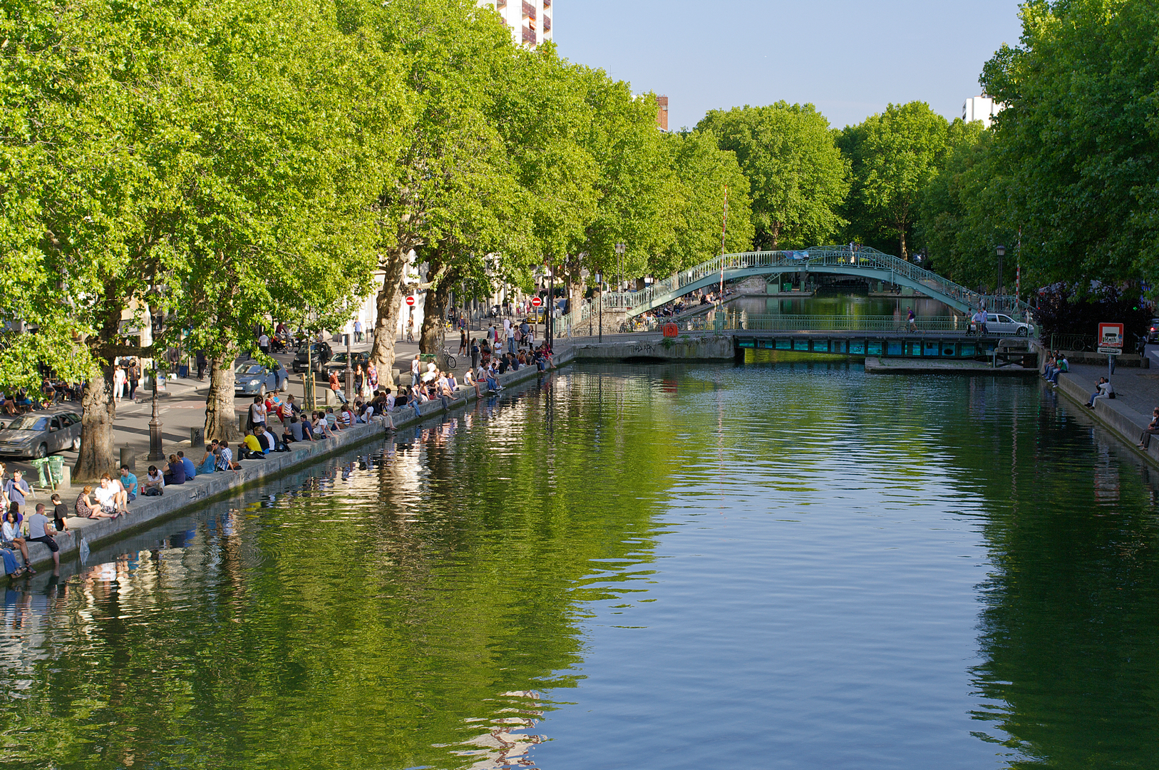Canal Saint-Martin, Ourcq and Villette