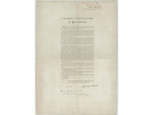 """The Emancipation Proclamation"""