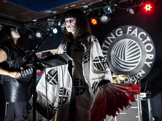 Yamantaka // Sonic Titan performs at Knitting Factory for CMJ Music Marathon