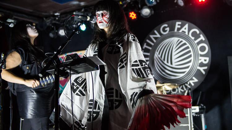 Yamantaka // Sonic Titan performs at Knitting Factory for CMJ Music Marathon