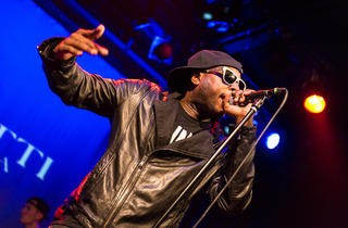 Talib Kweli performs at Music Hall of Williamsburg for CMJ Music