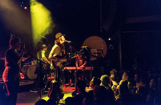 Head and the Heart performs at Music Hall of Williamsburg for CM