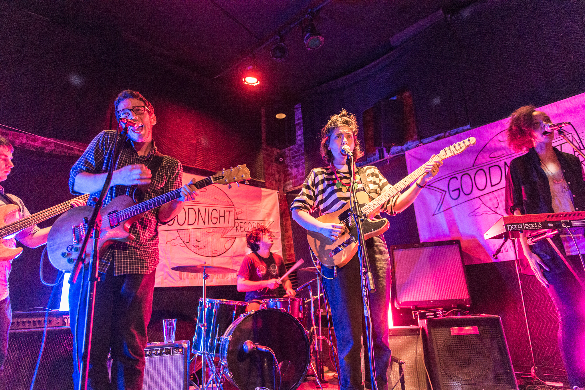 Ava Luna performs at The Gutter for CMJ Music Marathon