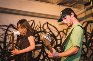 Speedy Ortiz performs at 285 Kent for CMJ Music Marathon