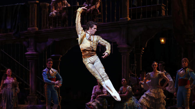 James Whiteside of American Ballet Theatre