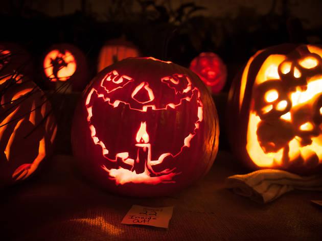 Crest Arts Pumpkin Carving Contest 2013