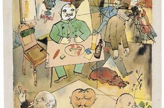 George Grosz (Deutschland, ein Wintermärchen (Germany, a Winter's Tale), 1918)