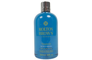 Molton Brown ginger-infused body wash, $30