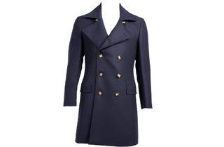 Suitsupply wool-silk peacoat, $569