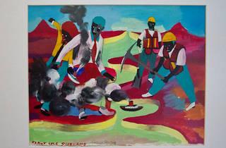 Ilustración de Santiago Solís (Foto: Alejandra Carbajal)