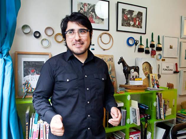 Santiago Solís (Foto: Alejandra Carbajal)